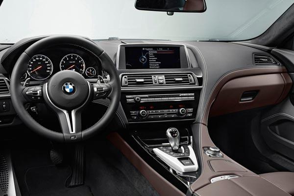 Интерьер салона BMW M6 Gran Coupe