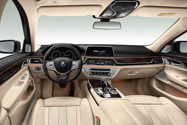 Интерьер салона BMW 7-series L