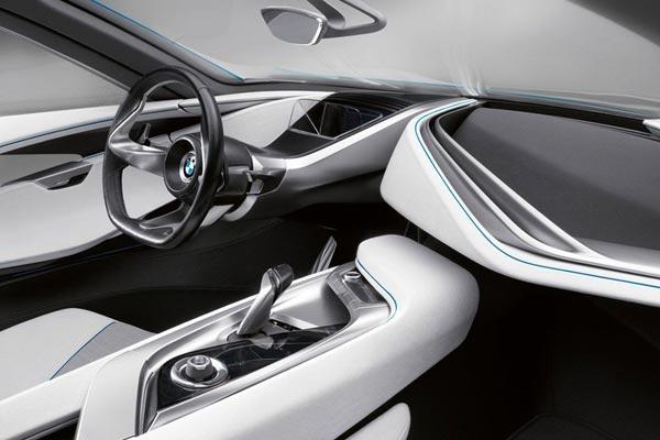 Интерьер салона BMW Vision EfficientDynamics
