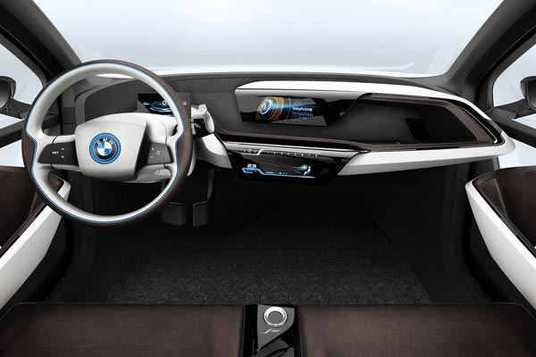 Интерьер салона BMW i3 Concept