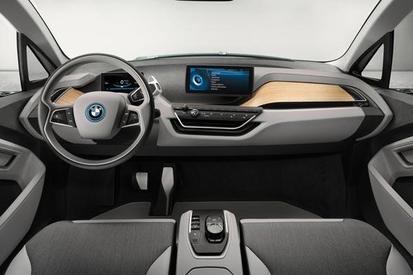 Интерьер салона BMW i3 Coupe