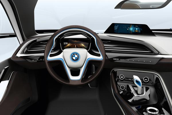 Интерьер салона BMW i8 Concept