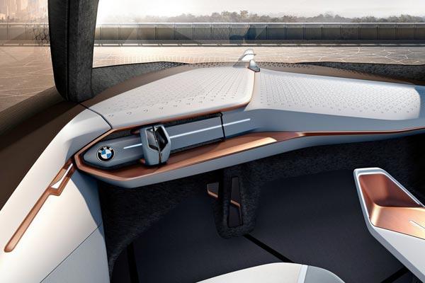 Интерьер салона BMW Vision Next 100 Concept