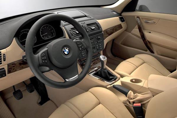 Интерьер салона BMW X3