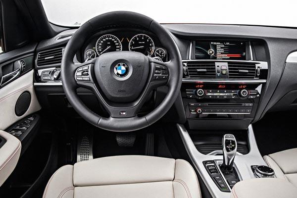 Интерьер салона BMW X4