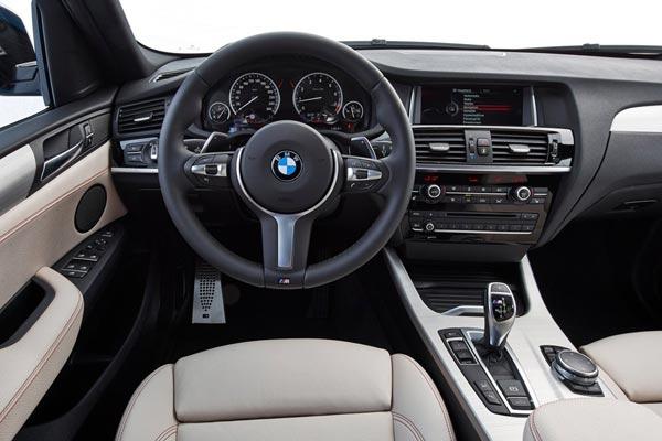 Интерьер салона BMW X4 M40i