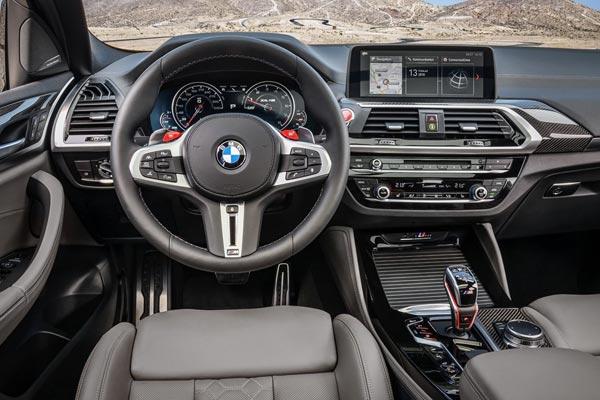 Интерьер салона BMW X4 M