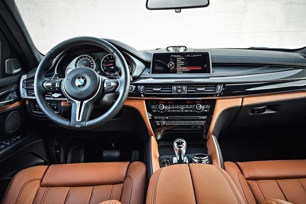 Интерьер салона BMW X6 M