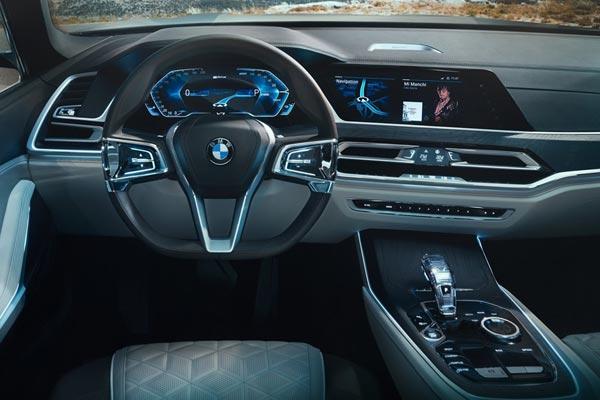 Интерьер салона BMW X7 Concept