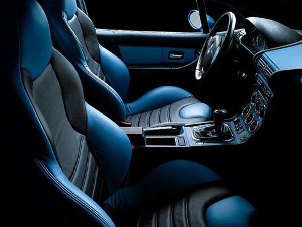 Интерьер салона BMW M-Coupe