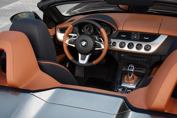 Интерьер салона BMW Zagato Roadster Concept