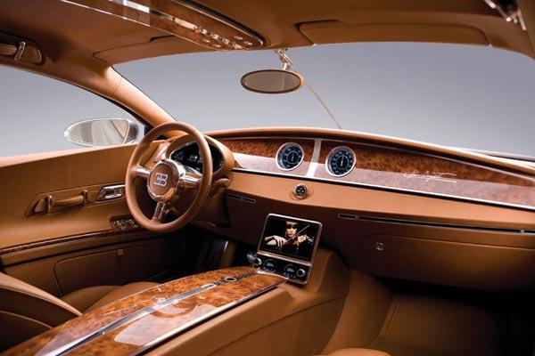 Интерьер салона Bugatti 16C Galibier