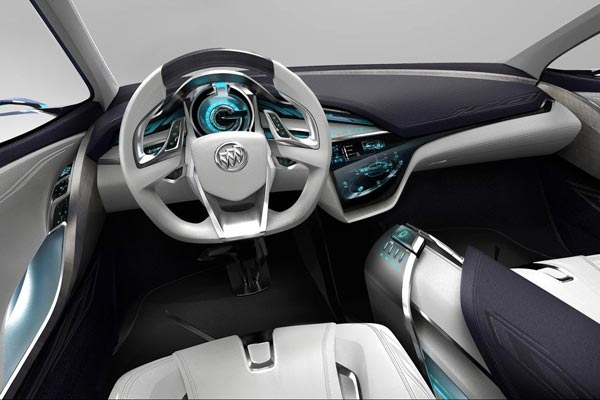 Интерьер салона Buick Envision Concept