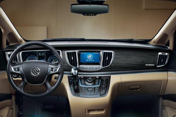 Интерьер салона Buick GL8