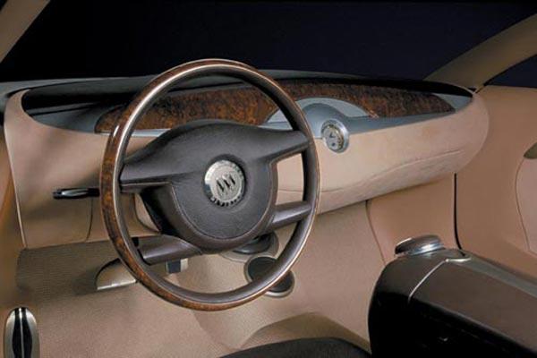 Интерьер салона Buick LaCrosse Concept