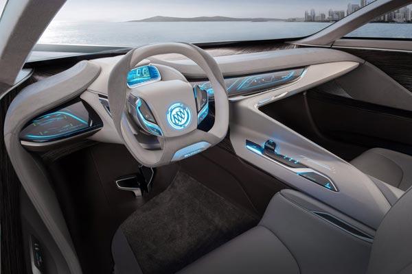 Интерьер салона Buick Riviera Concept