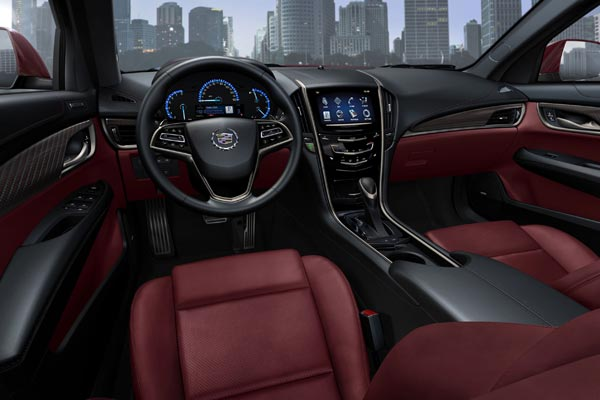 Интерьер салона Cadillac ATS