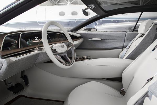 Интерьер салона Cadillac Escala Concept