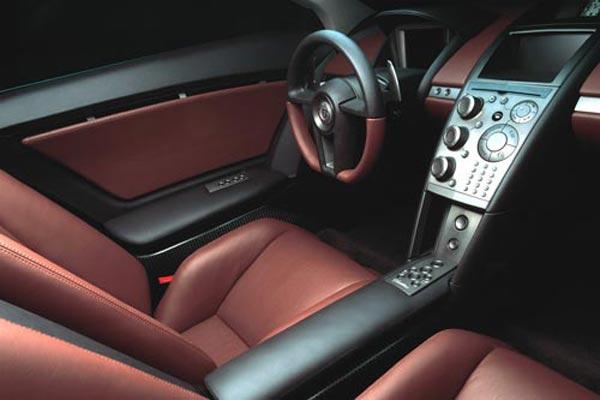 Интерьер салона Cadillac Cien