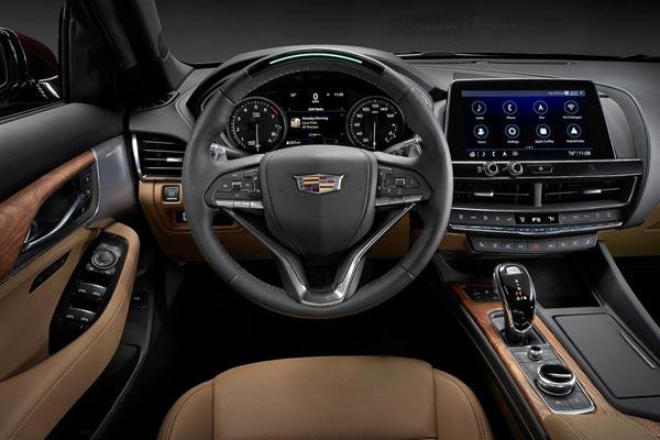 Интерьер салона Cadillac CT5