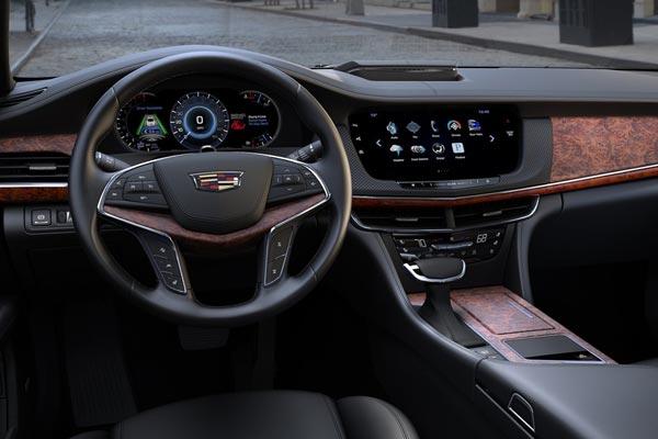 Интерьер салона Cadillac CT6