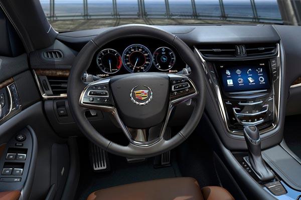 Интерьер салона Cadillac CTS