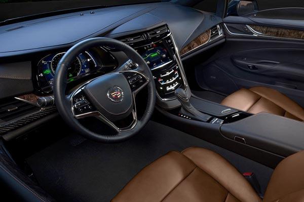 Интерьер салона Cadillac ELR