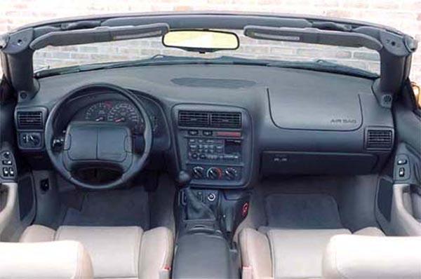 Интерьер салона Chevrolet Camaro Convertible