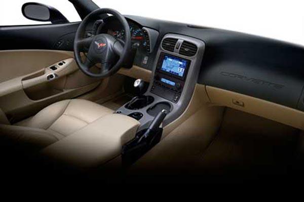 Интерьер салона Chevrolet Corvette