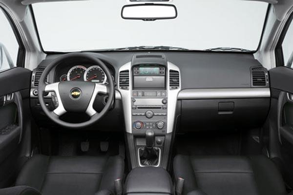 Интерьер салона Chevrolet Captiva
