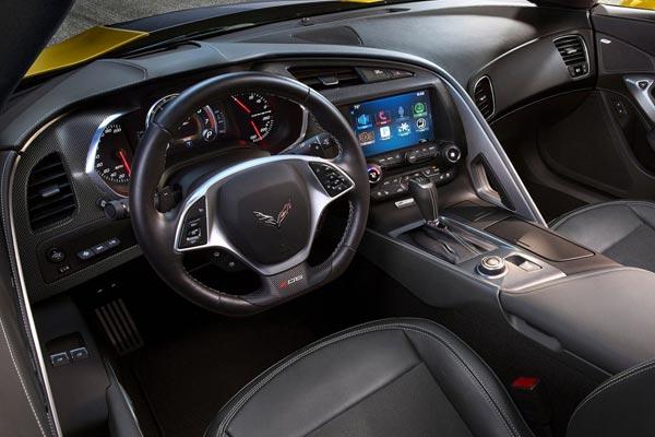 Интерьер салона Chevrolet Corvette Z06