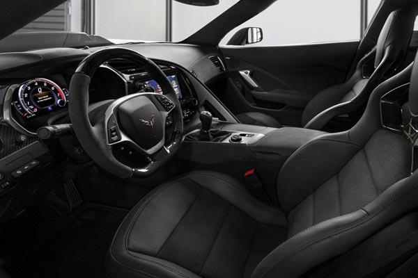 Интерьер салона Chevrolet Corvette ZR1