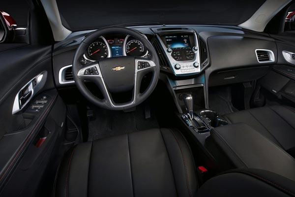 Интерьер салона Chevrolet Equinox