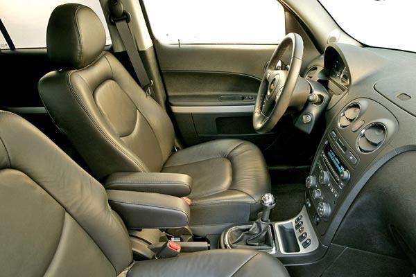 Интерьер салона Chevrolet HHR