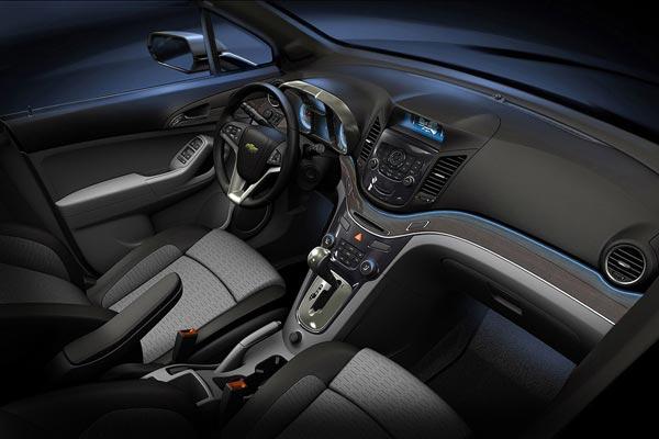 Интерьер салона Chevrolet Orlando Concept