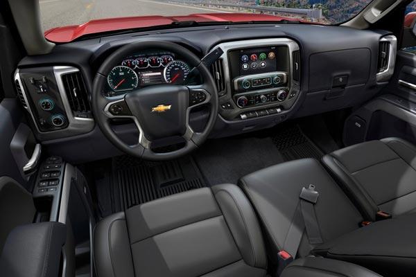 Интерьер салона Chevrolet Silverado