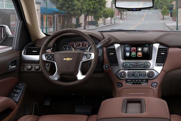 Интерьер салона Chevrolet Tahoe