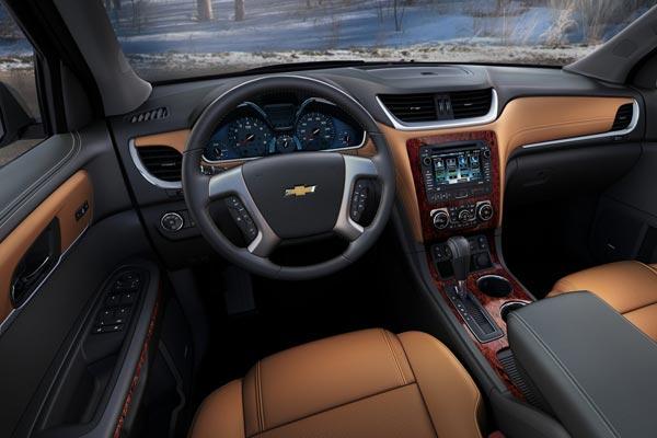 Интерьер салона Chevrolet Traverse