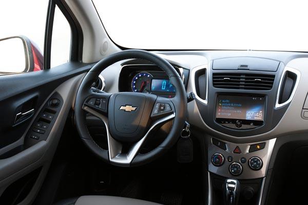 Интерьер салона Chevrolet Tracker