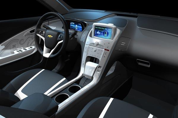 Интерьер салона Chevrolet Volt