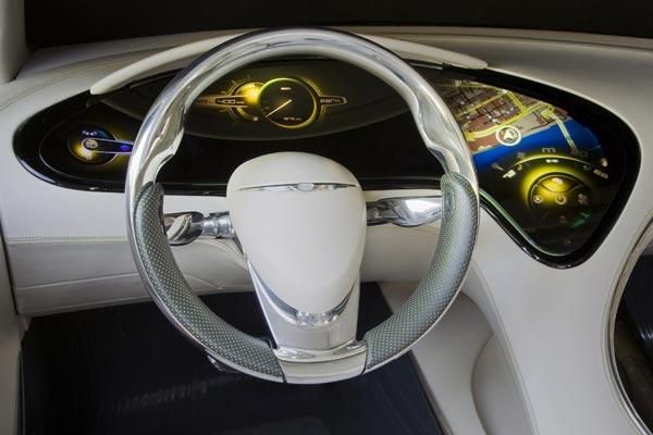 Интерьер салона Chrysler 200C EV Concept