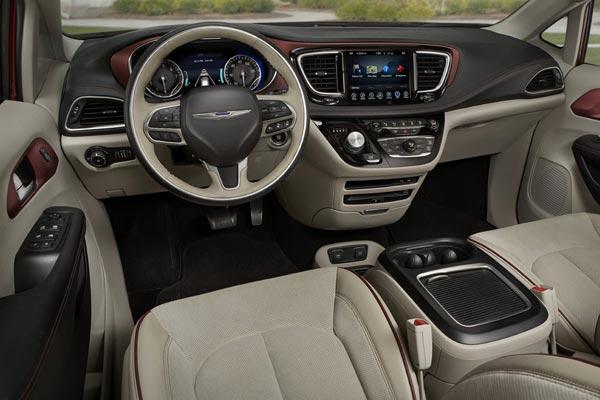 Интерьер салона Chrysler Pacifica