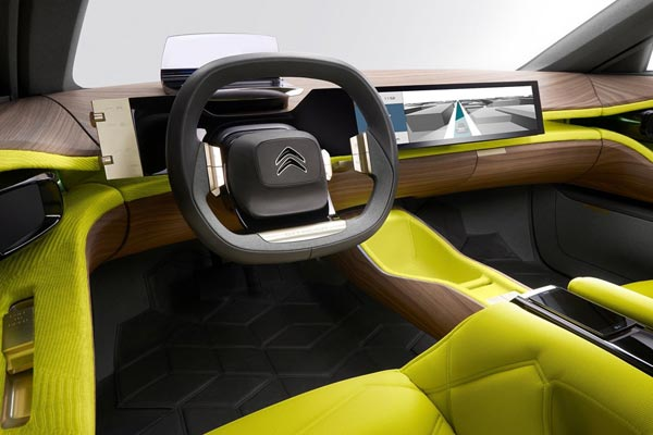 Интерьер салона Citroen CXperience Concept