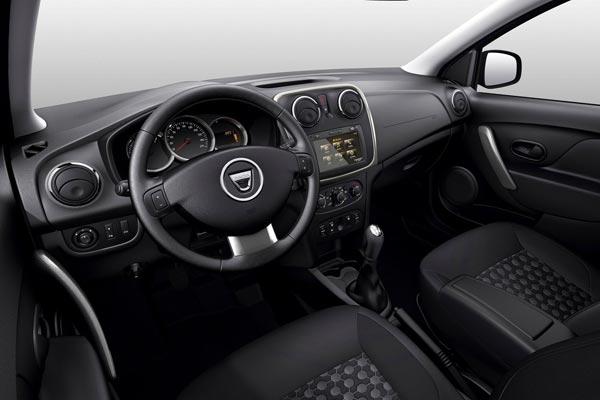 Интерьер салона Dacia Logan MCV