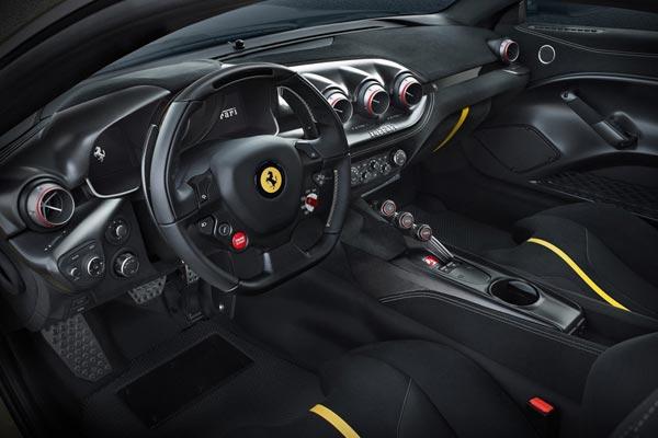 Интерьер салона Ferrari F12tdf