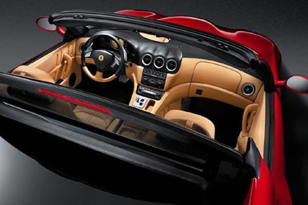 Интерьер салона Ferrari 575М Maranello Superamerica