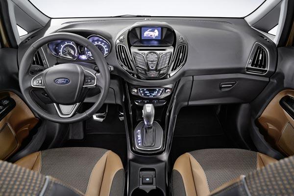 Интерьер салона Ford B-Max Concept