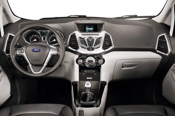 Интерьер салона Ford EcoSport Concept