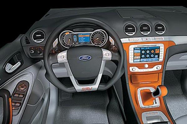 Интерьер салона Ford SAV Concept