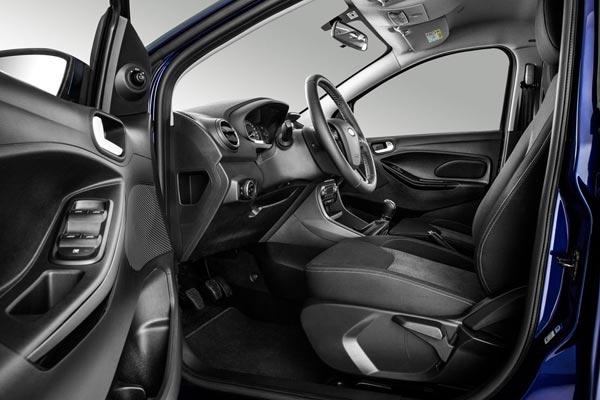 Интерьер салона Ford Ka Plus